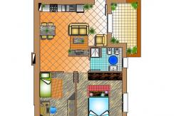 appartamento 18C