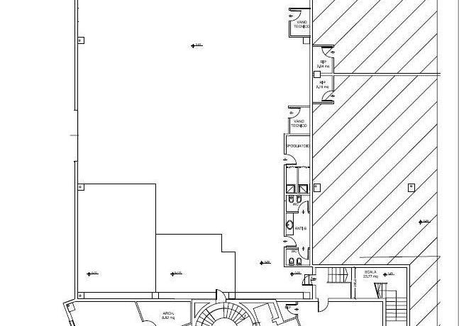 piano terra ufficio + capannone